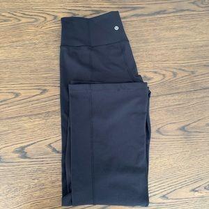 Lululemon Solid Black Bootcut Pant